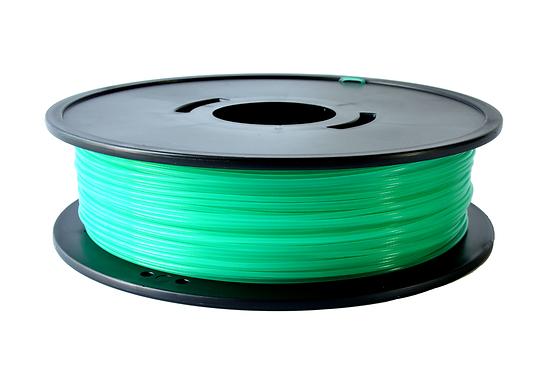PLA Vert translucide 1.75mm 3D filament Arianeplast  fabriqué en France