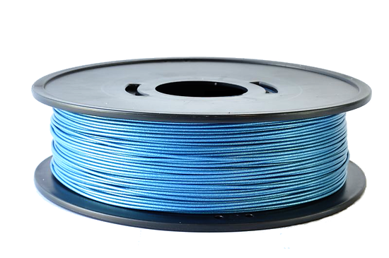 PETG Bleu métallisé  3D filament Arianeplast 1.75mm  fabriqué en France