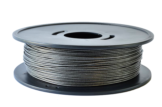 PETG Noir métallisé  3D filament Arianeplast 1.75mm  fabriqué en France (copy)