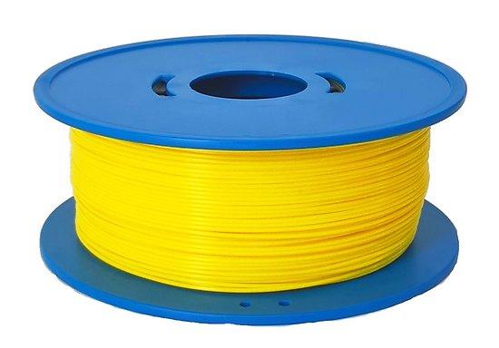 Bobine fil 3D PLA Jaune 1,75mm 1kg