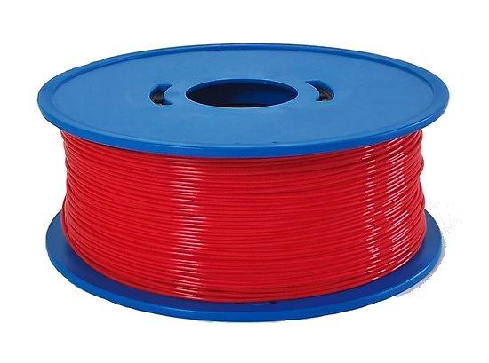 Bobine fil 3D PLA rouge 1,75mm 1kg