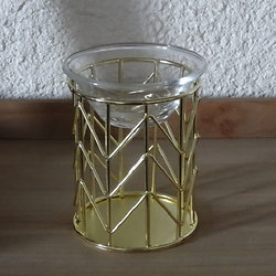 BRULE PARFUMS METAL GOLD OR 10 TIGES