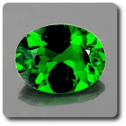 0.55 cts CHROME DIOPSIDE . VVS Russie