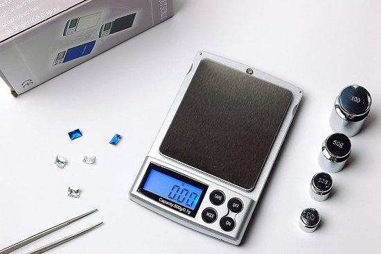 Mini balance de précision 500g/0.1g 6 unités de mesures