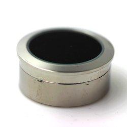 Boîte luxe en acier pour diamant et pierres gemmes Couleur mousse noire