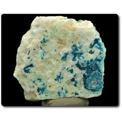 93 grammes. CORNWALLITE & CLINOCLASE BLEU Clara Mine, Rankach valley, Wolfach, Allemagne