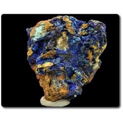 17,5 grammes. AZURITE SUR MATRICE Hilarion Mine, Lavrion District, Grèce