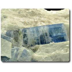 95.50 grammes CRISTAL DE CYANITE DANS MICA Imiter Mine, Maroc
