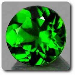 0.29 cts CHROME DIOPSIDE .IF Russie