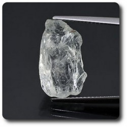 6.91 carats CRISTAL D'AIGUE-MARINE Brésil