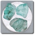 12.95 carats 3 pcs. CRISTAL D'APATITE Afrique