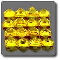 0.04 cts SAPHIR JAUNE . 1,90 MM. IF - VVS1 ( vendu à l'unité ) Ceylan, Sri Lanka