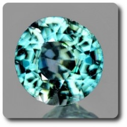 0.36 cts ZIRCON BLEU . IF Cambodge