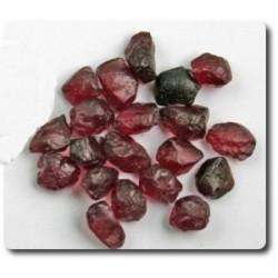 19.40 carats CRISTAL DE GRENAT RHODOLITE Birmanie