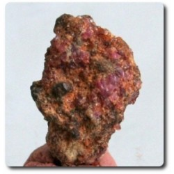 10.20 carats CRISTAL DE PAINITE & RUBIS Birmanie