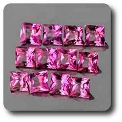 0.13 cts SAPHIR ROSE . 2,70 MM. IF - VVS1 ( vendu à l'unité ) Ceylan, Sri Lanka