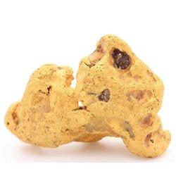 Pépite d'or . 11.22 g . Djado, désert du Ténéré, Niger, Afrique