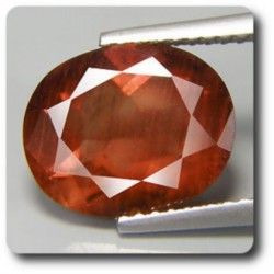 3.49 cts  ANDESINE ROUGE . VS Congo