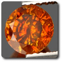 1.60 cts SPHALERITE ORANGE . IF Espagne