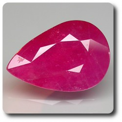 7.74 cts  RUBIS ROUGE .SI1 Mozambique