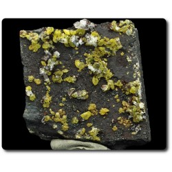 70 grammes CRISTAL DE STURMANITE & CALCITE N'Chwaning II Mine,  Afrique du Sud