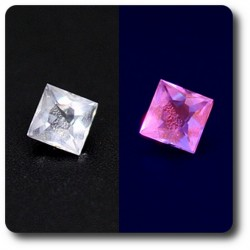 0.14 cts HACKMANITE UV COULEUR CHANGEANTE. IF Pakistan