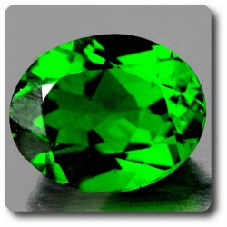 0.60 cts CHROME DIOPSIDE .IF Russie