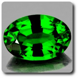 0.47 cts CHROME DIOPSIDE .IF Russie