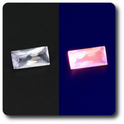 0.10 cts HACKMANITE UV COULEUR CHANGEANTE. IF Pakistan
