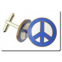 BOUTONS DE MANCHETTES Signe de la Paix