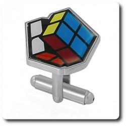 BOUTONS DE MANCHETTES Rubik's cube