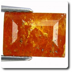 2.17 cts CLINOHUMITE ORANGE. SI1 Russie