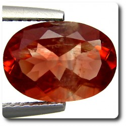 2.28 cts  ANDESINE ROUGE . VS Congo, Afrique