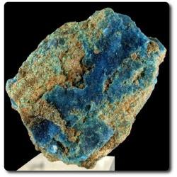 78 grammes CRISTAL DE CHALCANTHITE Cooper Mine, Lubin, Pologne