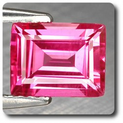 1.96 cts  SAPHIR ROSE . IF Madagascar