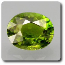 1.13 cts TOURMALINE CHROME . VS Mozambique, Afrique