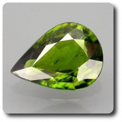 1.46 cts TOURMALINE CHROME . VS-SI Mozambique, Afrique