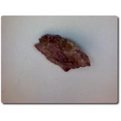 1.8 carats CRISTAL DE PAINITE & RUBIS Birmanie