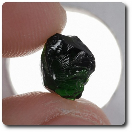 3.17 carats CRISTAL DE TOURMALINE CHROME Madagascar