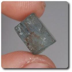 4.9 carats CRISTAL D'AIGUE-MARINE Brésil