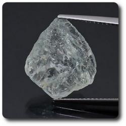 6.84 carats CRISTAL D'AIGUE-MARINE Brésil