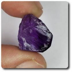 12.89 carats CRISTAL D' AMETHYSTE Afrique