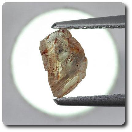 1.55 carats CRISTAL DE SAPHIR Madagascar