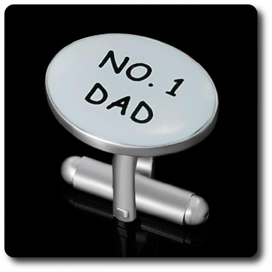 """BOUTONS DE MANCHETTES """" NO.1 DAD """""""