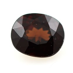 1.24 cts ZIRCON MARRON ORANGE . VVS1 Thaïlande