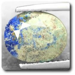 2.95 cts AZURITE CHRYSOCOLLE TENORITE Madagascar