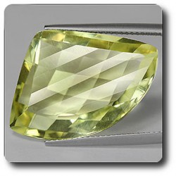 21.48 cts ORTHOSE FELDSPATH JAUNE. IF Tanzanie, Afrique