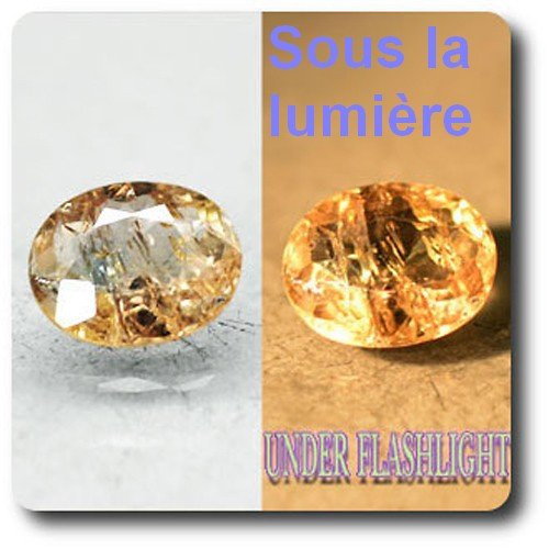 1.46 cts AXINITE-(Mg) COULEUR CHANGEANTE . SI1 France
