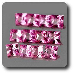 0.06 cts SAPHIR ROSE . 2 MM. IF - VVS1 ( vendu à l'unité ) Ceylan, Sri Lanka