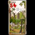 """Puzzle """"Le Rhinomadaire - Roceros dans la forêt"""""""